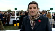 Tony McCoy becomes first jump jockey to ride 4000 winners Reporter to camera INT Tony McCoy press conference SOT nothing is impossible McCoy...