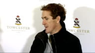 Tony McCoy becomes first jump jockey to ride 4000 winners Tony McCoy press conference SOT re his autobiography and his new novel EXT Reporter to...
