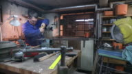 HD DOLLY: Toolmaker Drilling A Hole