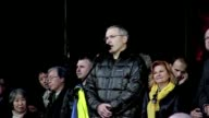 A top foe of Russian President Vladimir Putin who spent a decade behind bars told thousands on Kiev's main protest square Sunday that the Kremlin...