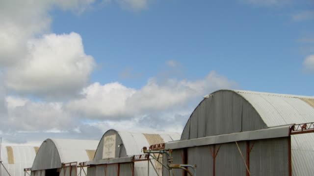 MS Top of Aircraft hanger / New Zealand