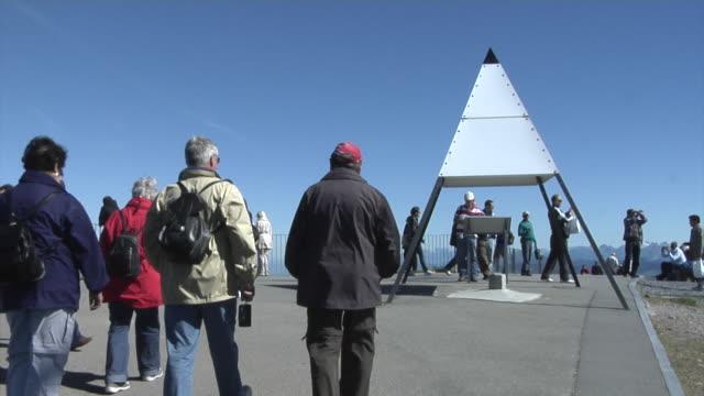 Top of the mount Rigi