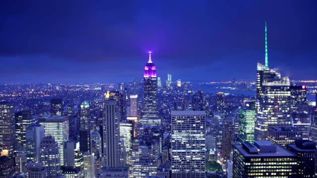 NYC Dusk Time Lapse