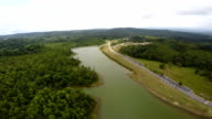 Top view at Khao Yai national park.