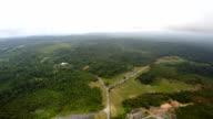 Vista superiore del Parco Nazionale di Khao Yai.