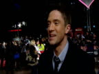 Topher Grace talks about Anne Hathaway havig a crush on him and how he now has it written into his contract that all his female costars must fancy...