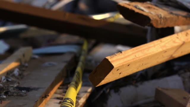Tornado Damage destroyed home
