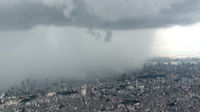 A tornado hit residential areas of Tokyo Friday September 4 police said No injuries were reported however The tornado was seen near Chuo Highway in...