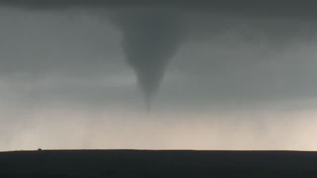 Tornado Touches Down Over Rural Texas, Supercell Thunderstorm
