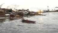 Tornadoe Ravaged Street