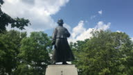Toronto, Canada: Statue of Dr. Sun Yat-Sen in Riverdale Park East close to Broadview Avenue