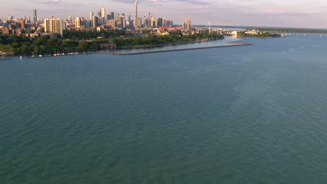 Toronto Ontario City Skyline shot on a Cineflex