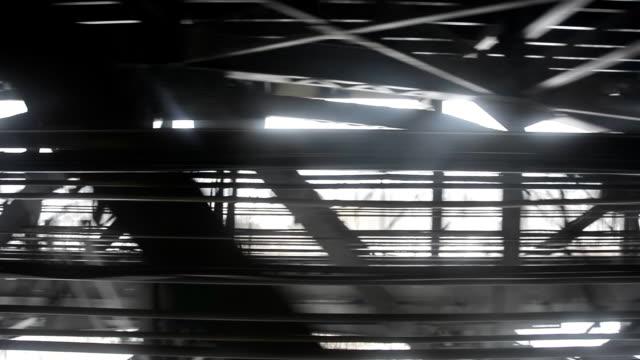 Toronto TTC subway rider's view in Winter