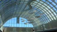 Toronto,Canada: Scarborough Town Centre modern architecture and general ambience or atmosphere of the famous commercial tourist attraction