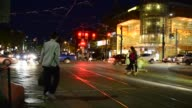 Toronto's Chinatown Scenes at Night Time