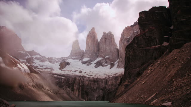 Torres del Paine. Chile HD timelapse