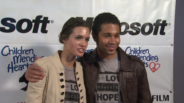 Torrey DeVitto Corbin Bleu at the 4th Annual Please Mr President Workshop And Fundraising Event Benefitting Children Mending Hearts at Los Angeles CA