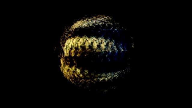 JENSEITS der Oberfläche - Kugel 5: Gesamt - dunkel (Übergang)