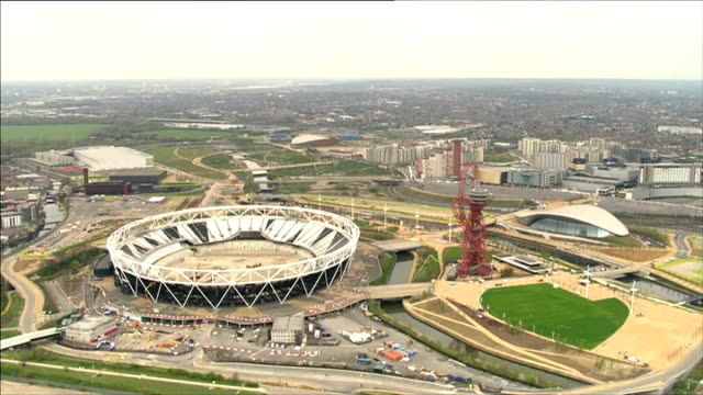 Tottenham Hotspur could share the Olympic Stadium with West Ham for a season LIB / 442014 Queen Elizabeth Olympic Park including Olympic Stadium and...
