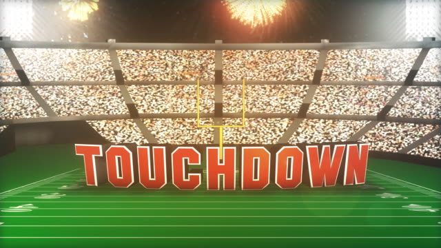 Touchdown! Football Animation With Alpha