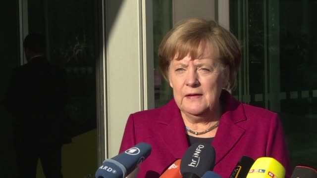 Tough talks to form Germany's next government continue putting Chancellor Angela Merkel's political future in the balance as failure to produce a...