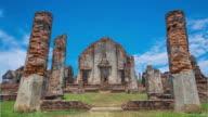 Tourism Historical Places phra narai raja niwet Lopburi, Thailand.