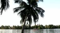 Tourist boat backwaters Alleppey, Kerala, India, Asia