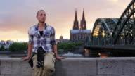 Touristen in Köln