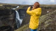 Toeristische fotograferen van natuurlijke monumenten
