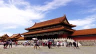 Tourist Visit The Forbidden City