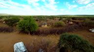 HELI Tourist Visiting The Himba Tribe
