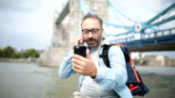 Tourist vlogging