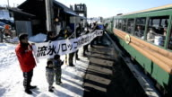 Tourists and local community both missed Japan's popular sightseeing train in northern Hokkaido as it staged the last run on February 28 The...