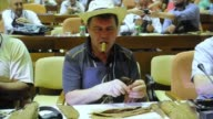 US tourists enjoy new freedom to bring home cigars and rum from Cuba at the International Habanos Cigar Festival where visitors can try the islands...