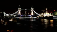 HD: Tower Bridge At Night