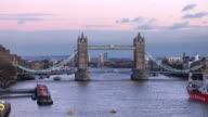 TL HA Tower Bridge day to night transition