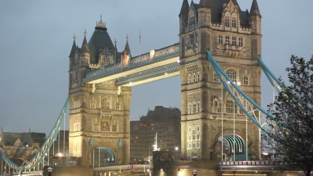 Tower Bridge, London from side - HD & PAL