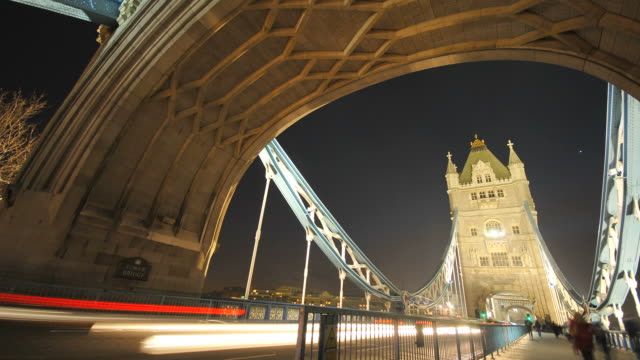 Tower Bridge London time-lapse