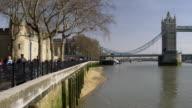 WS PAN Tower Bridge on Thames river, London, United Kingdom
