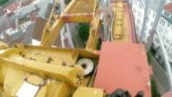 Tower crane installing