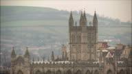 MS Tower of Bath Abbey / Somerset, United Kingdom