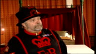 Opening to visitors at night John Keohane interview SOT Tells ghost story about Anne Boleyn TO