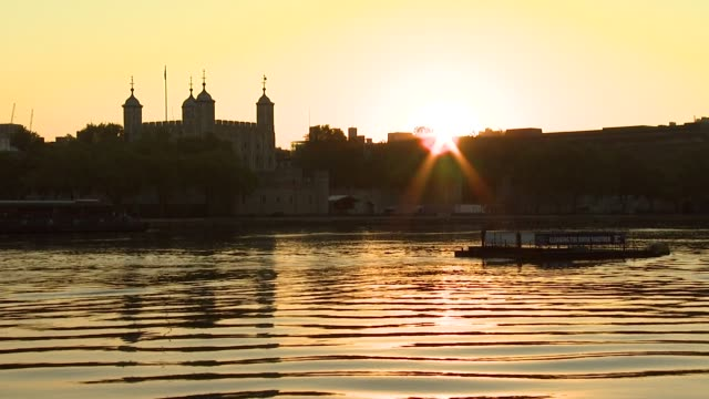 Tower of London sunrise Olympic London General Views on July 21 2012 in London England