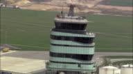 AERIAL Tower of Vienna International Airport / Schwechat, Lower Austria, Austria