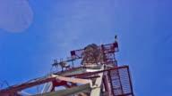 TV tower timelapse full HD