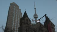 CN Tower timelapse - HD 30F