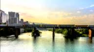 Town Lake Austin Texas Time Lapse