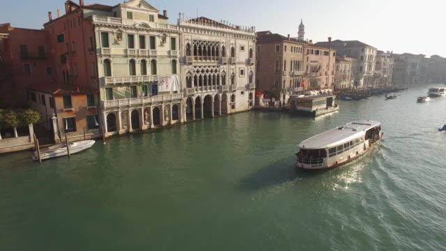 Stad van Venetië in Italië