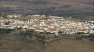 AERIAL WS Townscape / Elvas, Portalegre, Portugal