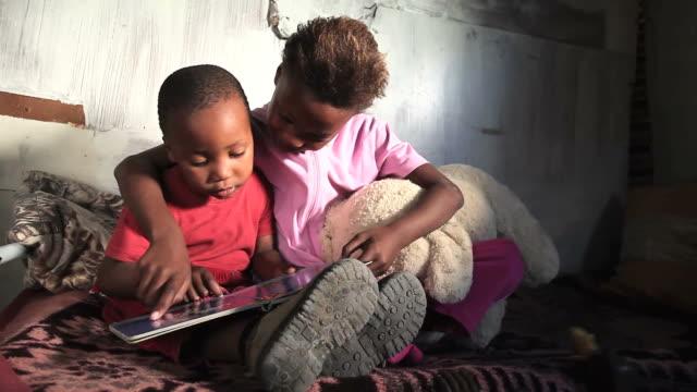 Township kids reading